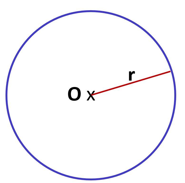 rayon du cercle