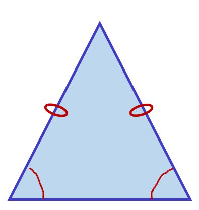 triangle isocèle