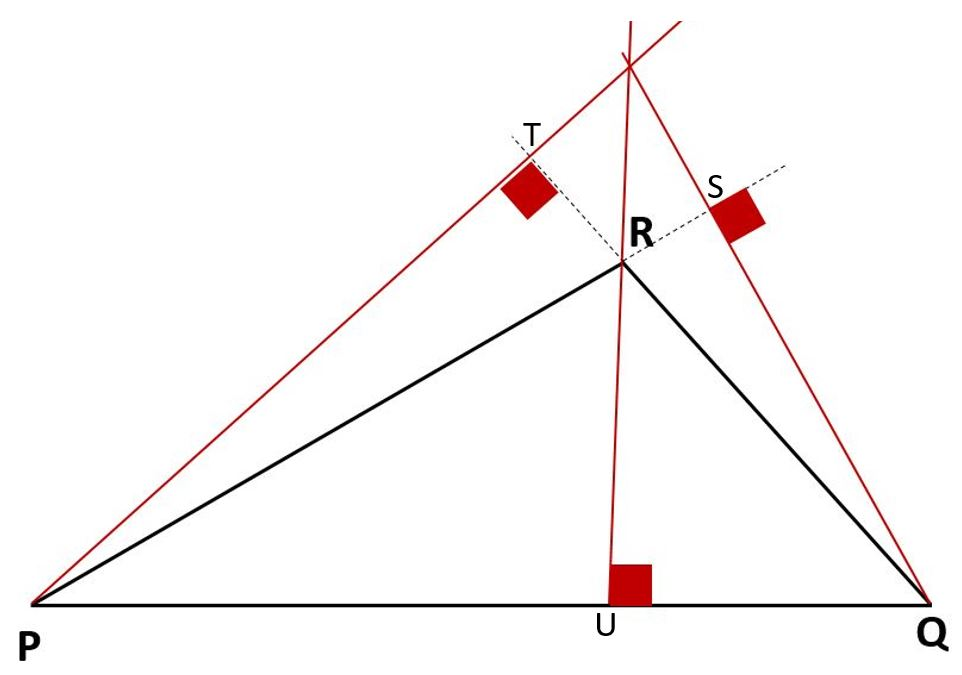 hauteurs d'un triangle