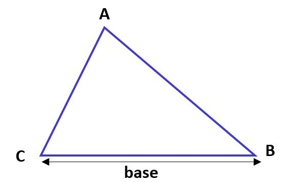 Base d'un triangle